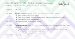 Talentchain Nuori mieli: Onnistuneesti työelämän poikkeusaikana 22.4.2021: Jasmeet Saini